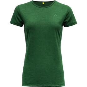 Devold Valldal Camiseta Mujer, verde